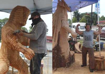 2016 Big Men Bigger Carvings