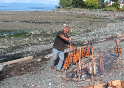 2016 Traditional Salmon BBQ On The Beach