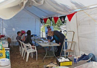 Merchandise Tent