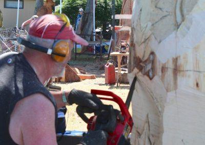 Warren Little, Mark out where to cut, then cut